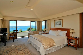 Take in the views from the beautiful Lake Suite