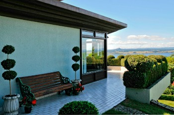 Enjoy amazing views from Lake Taupo Lodge