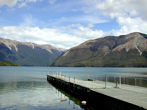 Lake Rotoiti in the Nelson Lakes National Park