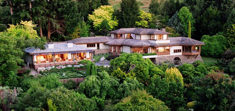 Stunning Lake Taupo Lodge - pic courtesy Lake Taupo Lodge