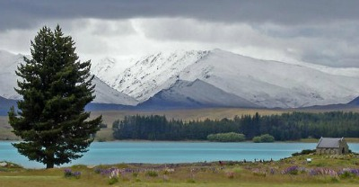 Cheap campervans in New Zealand - what better way to see stunning locations like Lake Tekapo