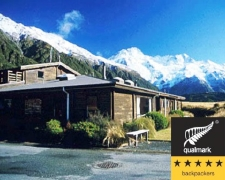 The YHA backpackers lodge at Mt Cook