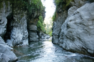 Iron Gates Gorge in the Manawatu - picture courtesy PNCC