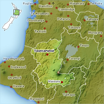 Ruapehu Map