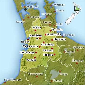 Waikato region ma