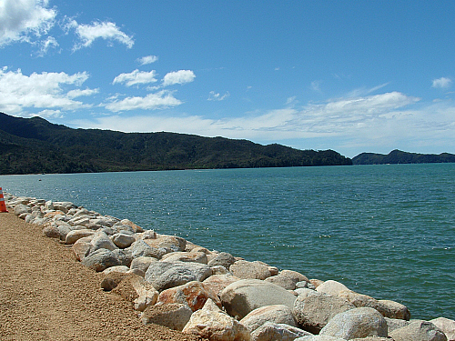 Marahau at the entrance to the Abel Tasman