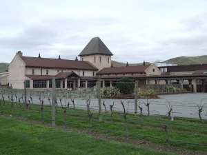 Montana winery at Blenheim, one of many in the Marlborough district