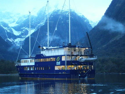 An overnight cruise on the Milford Mariner is an unforgettable experience - click for more details on this amazing adventure