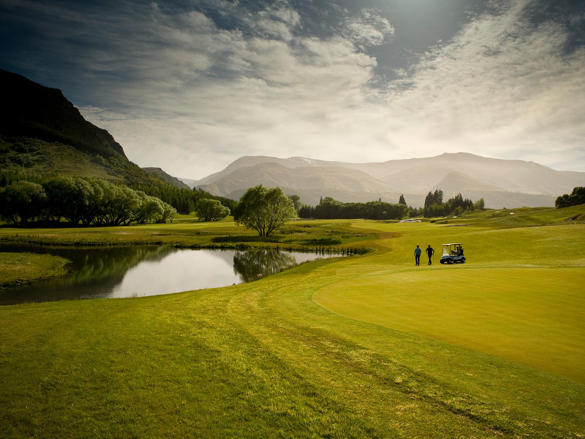 Millbrook Golf Course Queenstown New Zealand