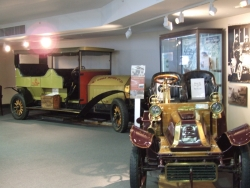 Vintage cars in the Sir Edmund Hillary Alpine Centre