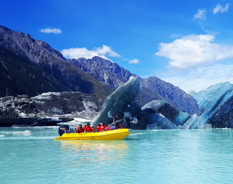 Mt Cook Glacier Explorers Image Courtesy Glacier Explorers