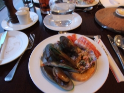 Seafood at the Hermitage buffet -
