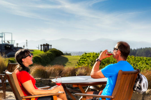 Fresh air. Local wines. Bike by your side. What a perfect day!