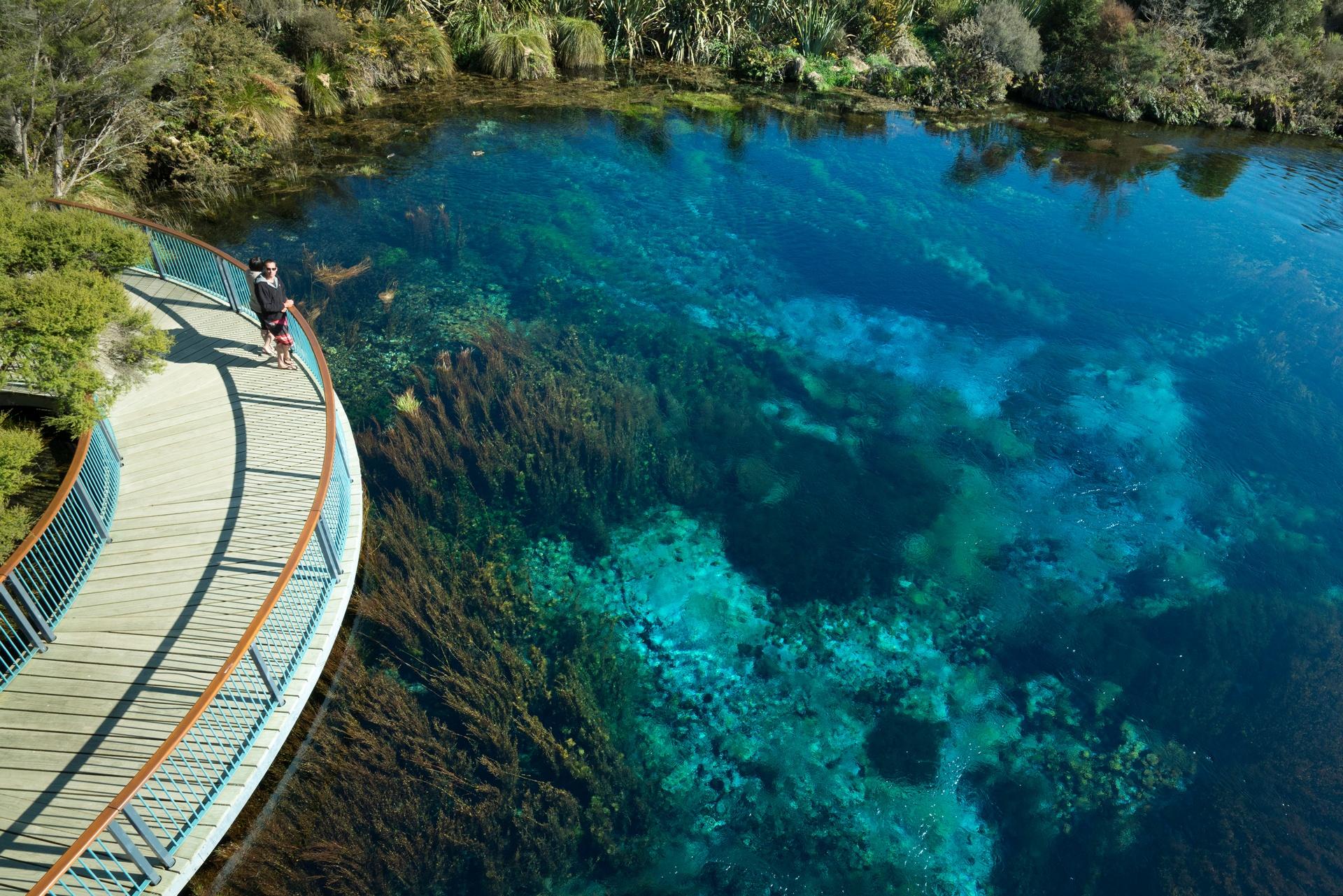 Te Waikoropupu Springs near Nelson. Image courtesy Craig Parry and nelsontasman.nz