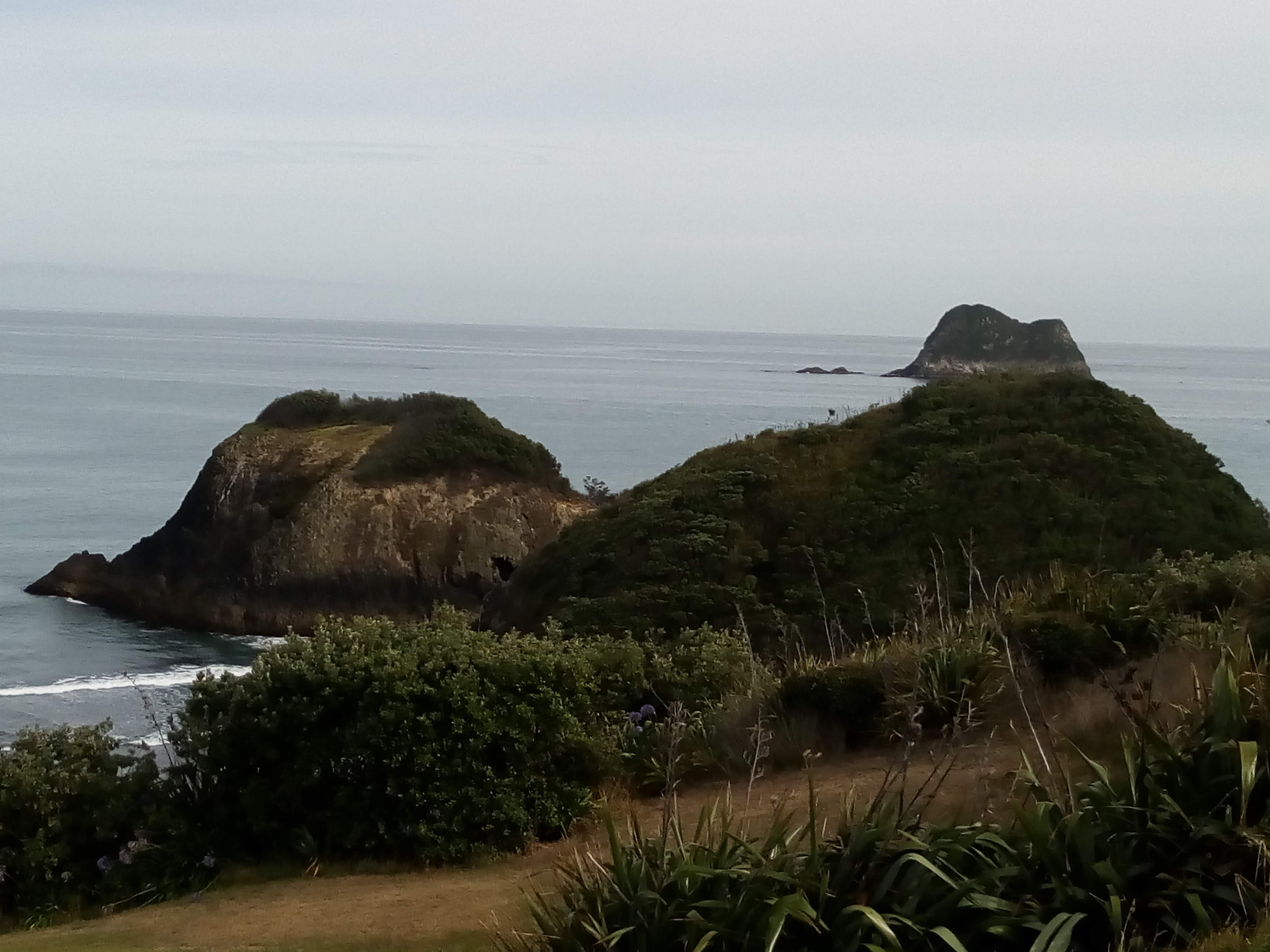 New Plymouth coast