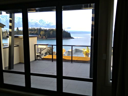 View from inside apartment at Pepper's Beacon