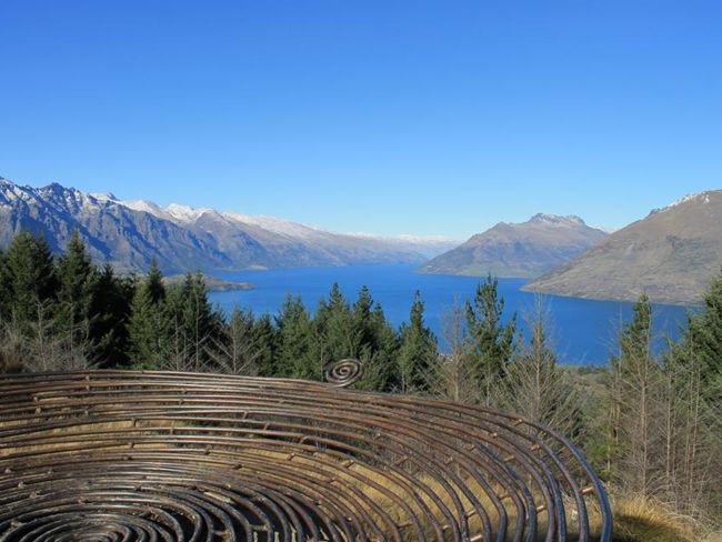 The Basket of Dreams on Queenstown Hill. Pic courtesy TNZ