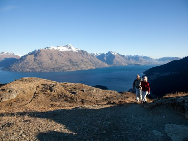 Queenstown Hill Time Walk. Pic courtesy TNZ