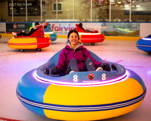 Ice bumper Car at Queenstown Ice Arena