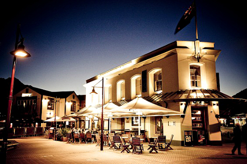 Queenstown's Pub on Wharf - pic courtesy Pub on Wharf