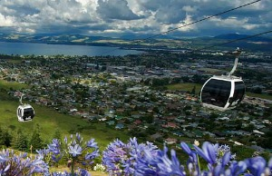 Great views from Rotorua's Skyline Gondola - image courtesy Skyline Gondola