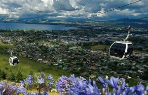 Great views from Rotorua's Skyline Gondola - image courtesy Skyline Gondola