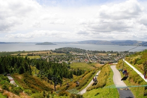 Great views from the Skyline Gondola - picture courtesy skyline.co.nz