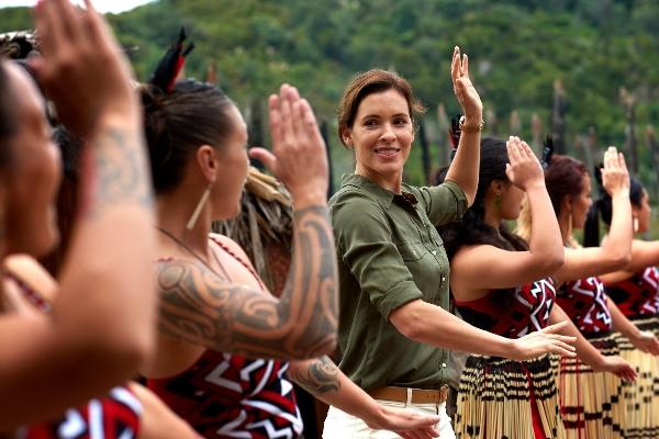 A Maori welcome at Te Puia Rotorua - pic courtesy Fraser Clements