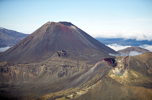 The Tongariro Alpine Crossing - pic courtesy Visitruapehu.com
