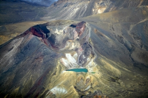 The Tongariro Alpine Crossing pic courtesy visitruapehu.co.nz