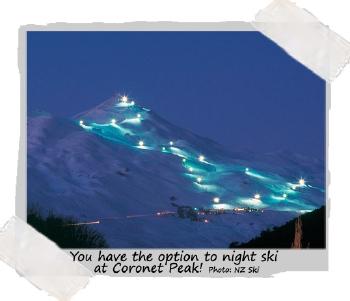 Night skiing at Coronet Peak - with Haka Tour