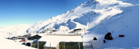 Mt Hutt ski fields south of Christchurch