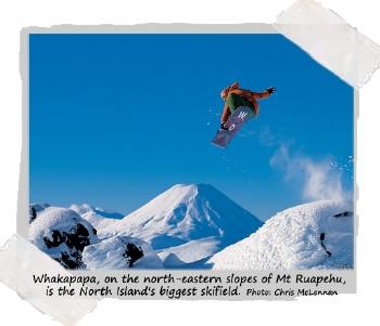 Ski Whakapapa on New Zealand's North Island with Haka Tours