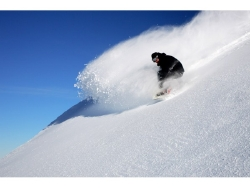 Perfect conditions at Cardrona near Wanaka