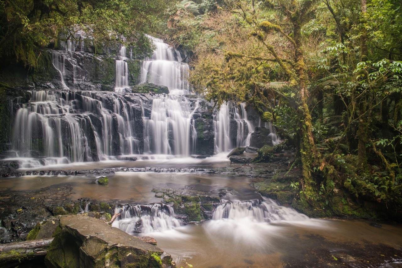 Purakaunui Falls in Southland. Image courtesy Sam Deuchrass