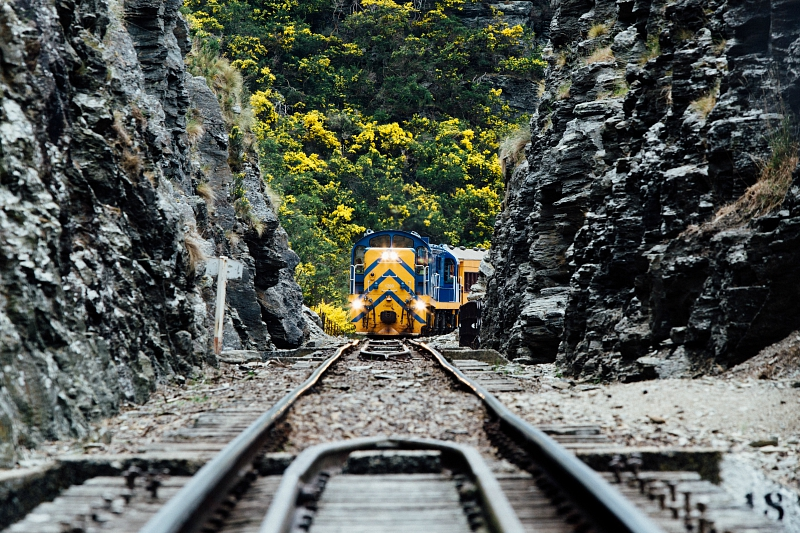 Taieri Gorge Railway - pic courtesy Dunedin Railways