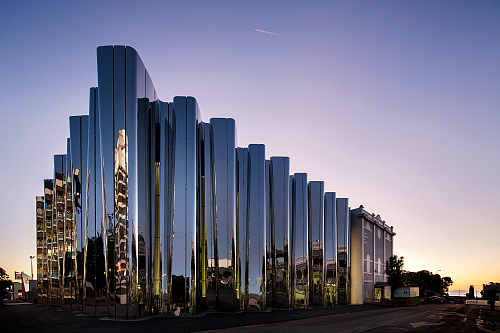Govett Brewster Art Gallery Len Lye Centre New Plymouth - pic courtesy Patrick Reynolds