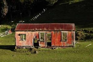 Taranaki Old Tangarakau Shed Courtesy Rob Tucker