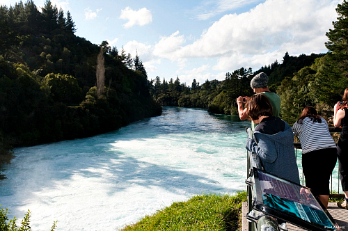 Huka Falls - pic by Paul Abbitt