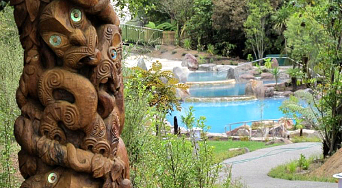 If you are in Taupo, a visit to Wairakei Terraces hot pools is a must. We thank them for the use of their image.