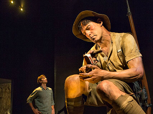 Te Papa Gallipoli The Scale of Our War exhibit - pic courtesy Te Papa