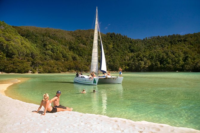 Sailing in the Abel Tasman National Park - click for more information
