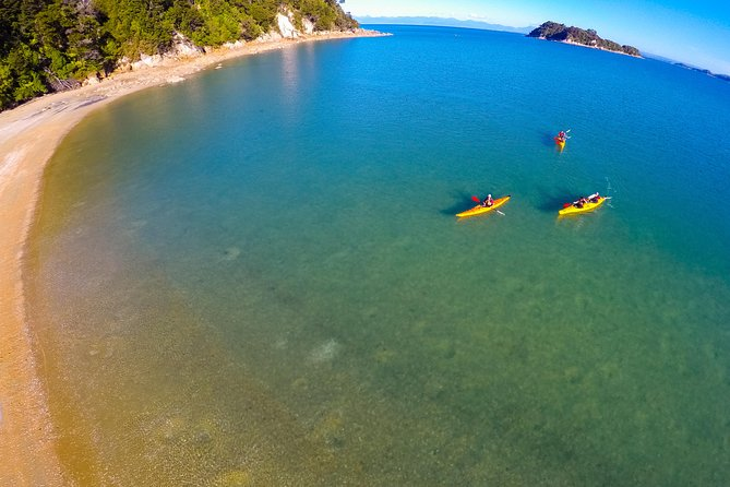 Kayaks on the Lock Stock and 2 Smoking Paddles tour - pic courtesy Viator