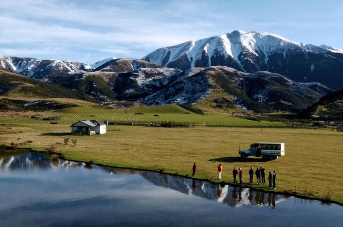 Combine the TranzAlpine Train with a guided tour and 4wd adventure