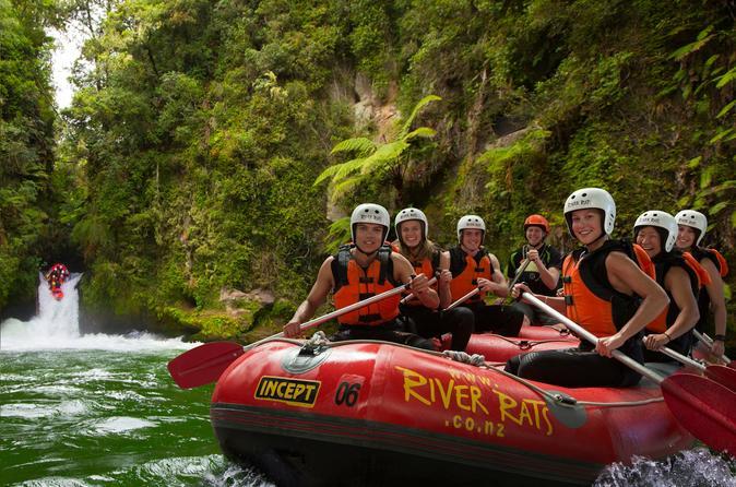 Playing catch up on the Kaituna River near Rotorua
