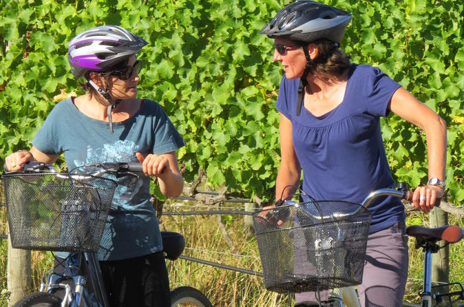 A guided bike tour through the wineries - what a great day out!