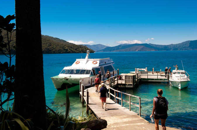 A mail boat cruise of the Marlborough Sounds is a unique way to experience this pristine paradise