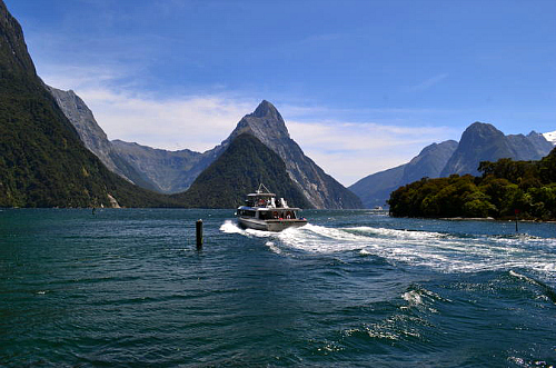 See magical Milford Sound on a day tour from Te Anau
