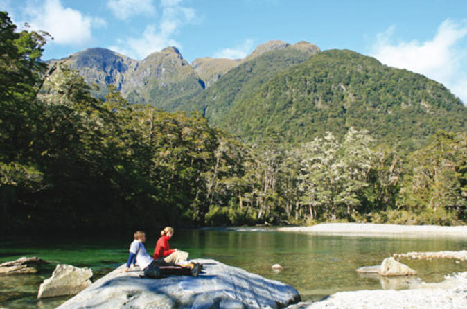If your time is limited, then the Milford Track Guided Day Walk From Te Anau could be perfect for you - click for more information.