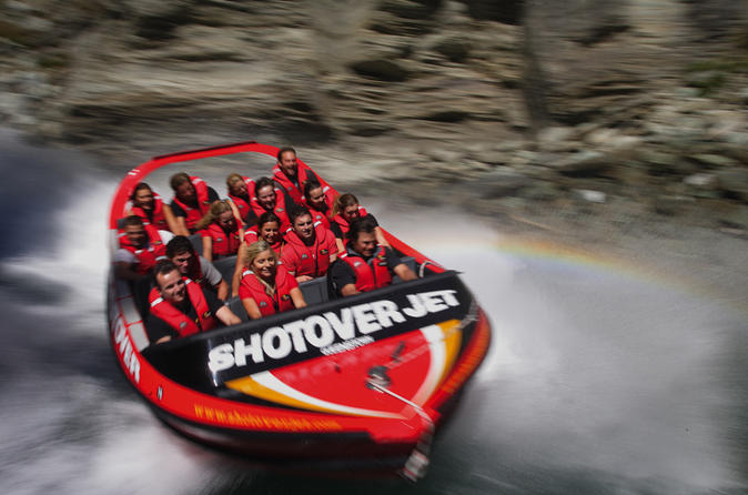 The Shotover Jet Queenstown